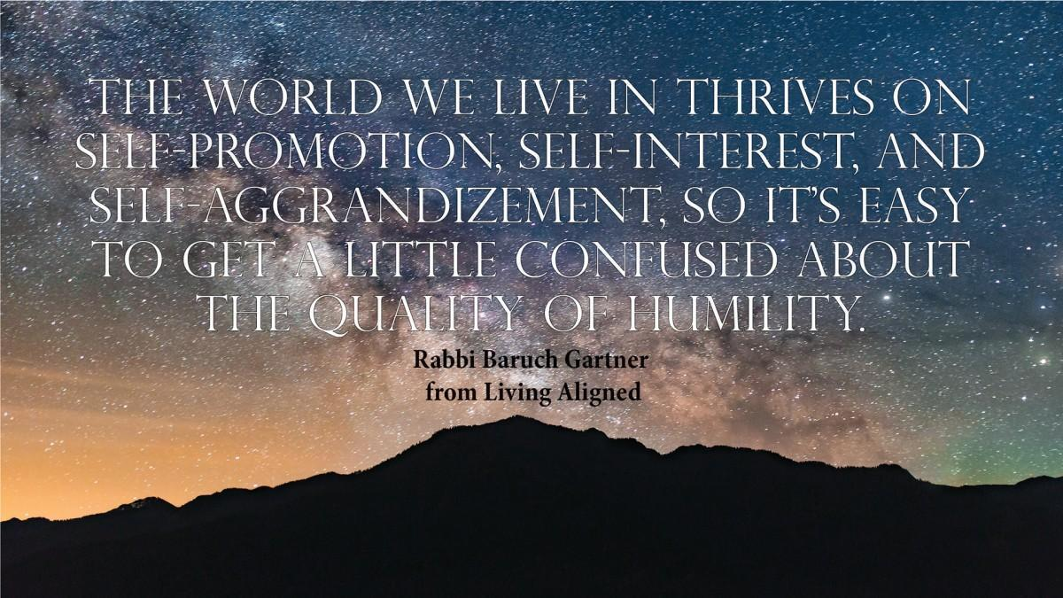 The Quality--Of Humility